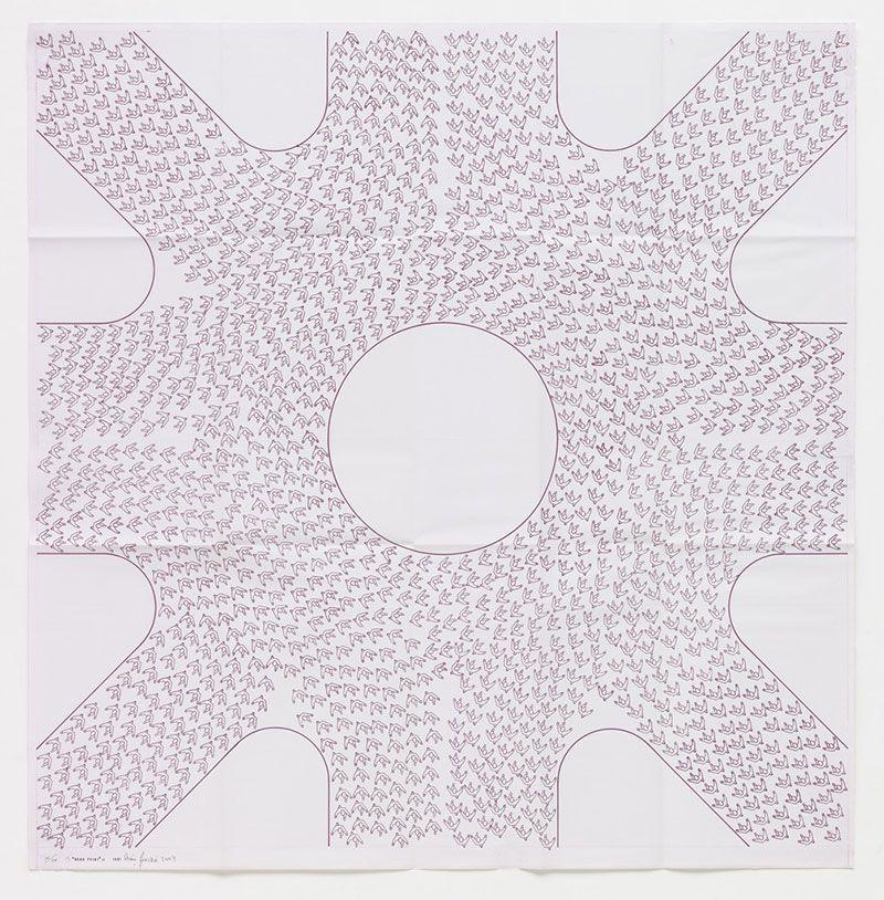 León Ferrari's Héliographias / 2 (Iterations, Textures, Pattern)