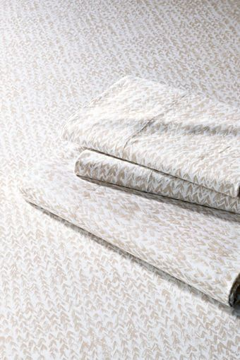 200 Count Textured Leaf Percale Bedding From Lands End Summer Sheets
