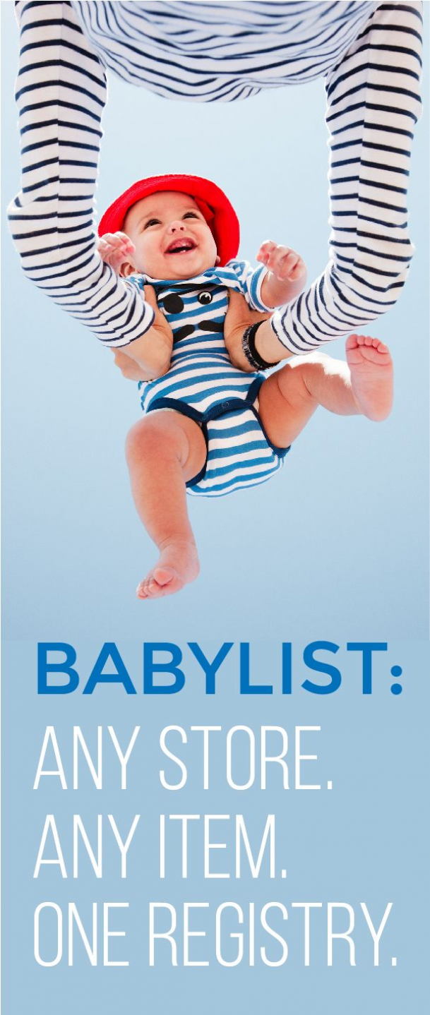 You can add anything to your baby registry with BabyList. Literally anything - even Etsy items baby sitting or an aquarium/zoo membership! It's easy beautiful & free. BabyList works just like Pinterest. Simple enough for the grandparents-to-be too. #babyregistry #what #to #add #to #baby #registry