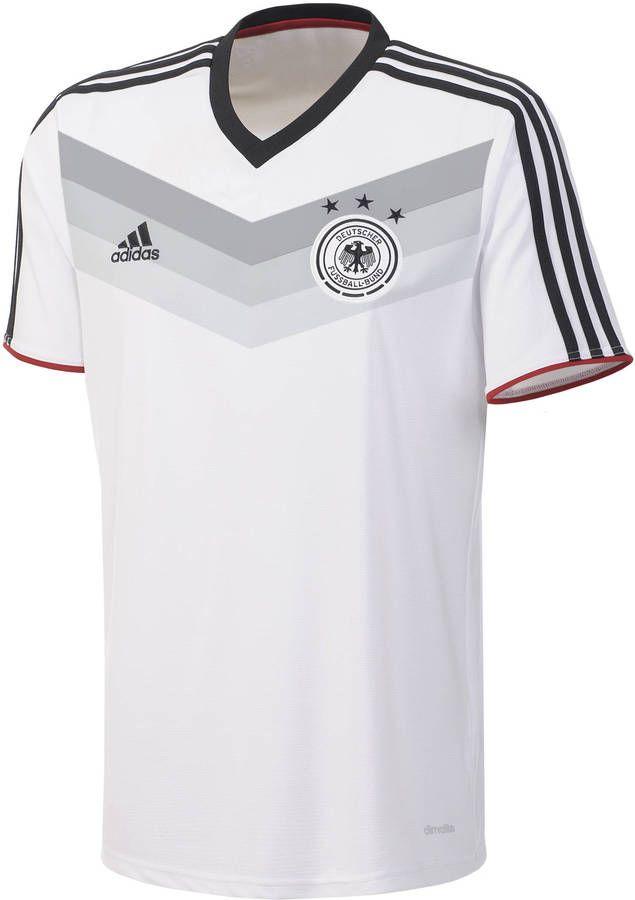 Adidas Herren Fussball Dfb Trainingsshirt Wm 2014 Auf