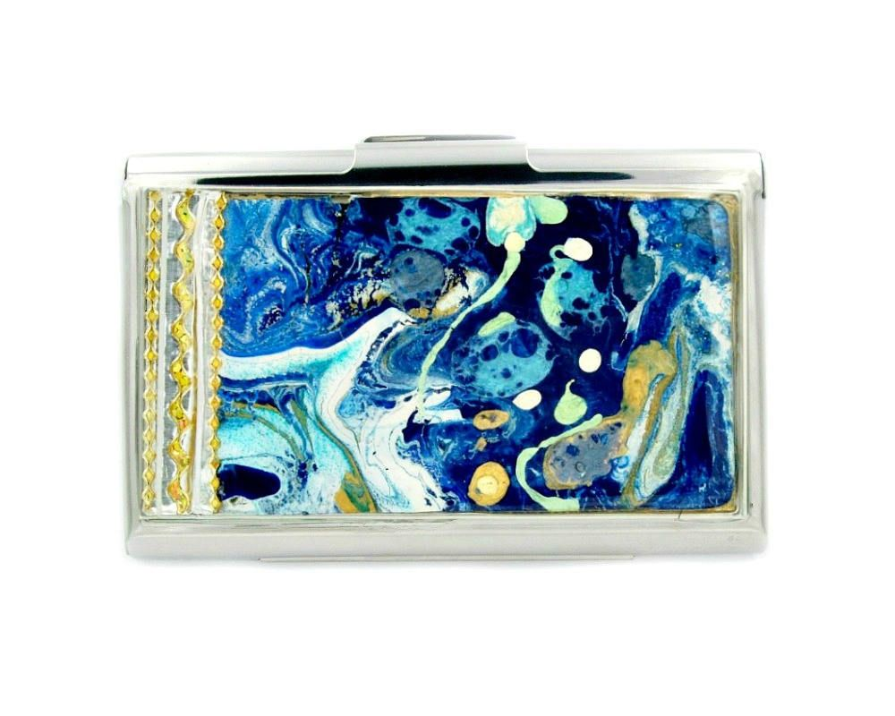 Business card holder for women - credit card case for women ...
