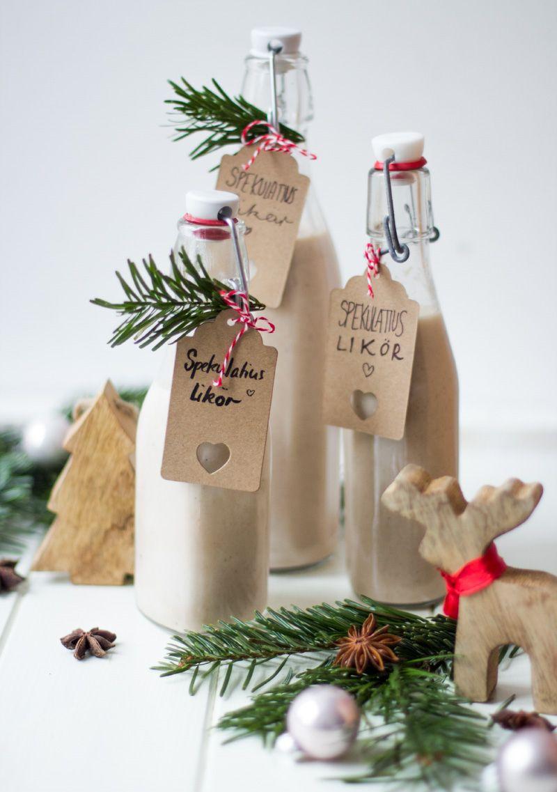 Spekulatiuslikör – Eine schöne Geschenkidee zu Weihnachten
