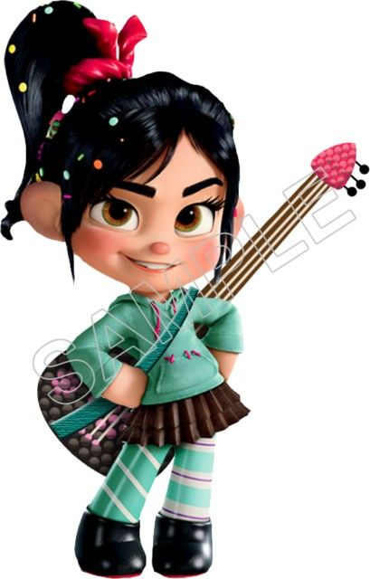 Wreck It Ralph Vanellope T Shirt Iron On Transfer Decal 3 Not