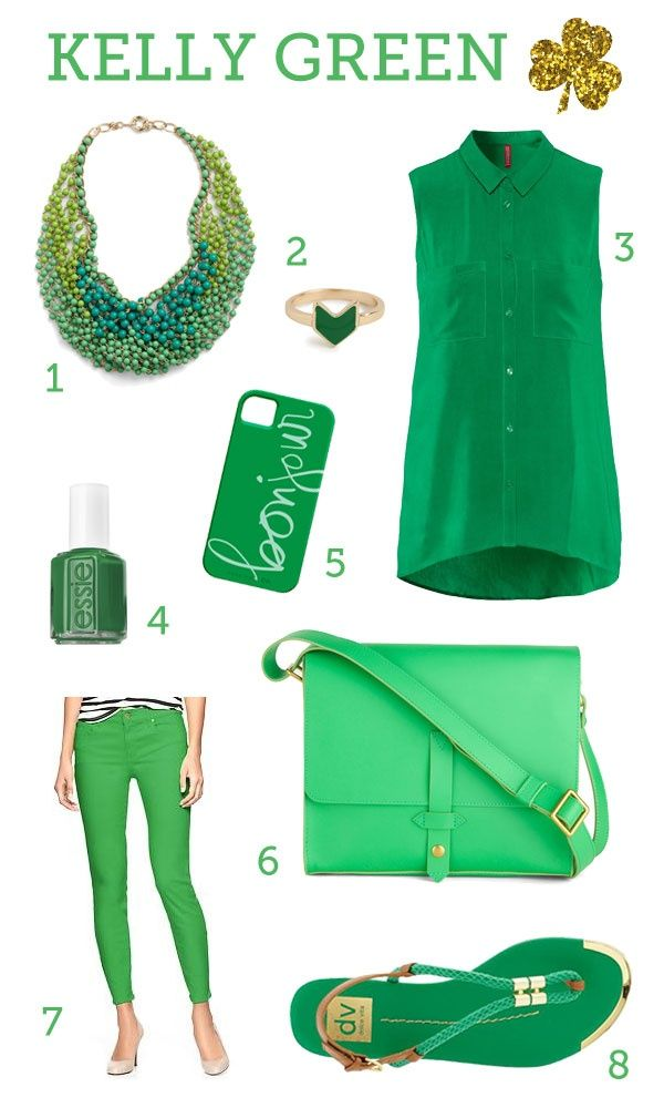 Clear Spring Colors | color trend: kelly green | Clear Spring