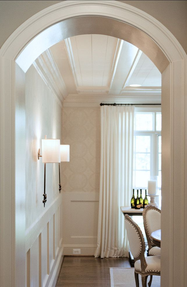 love the arched door doorways use throughout the house decept