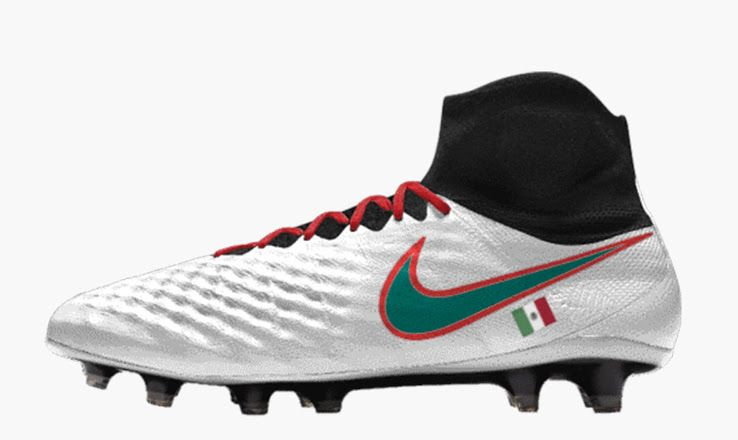 moderadamente bestia preferible  Nike iD Mexico 2017 Confed Cup Boots Pack Revealed - Footy Headlines   Nike,  Nike id, Football boots