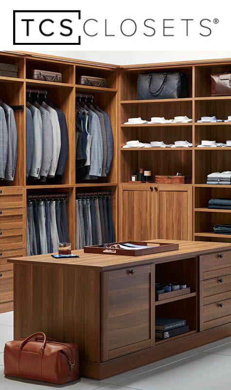 YOUR CLOSET. YOUR WAY. Choose From A Wide Variety Of Options To Build A  Truly Custom Closet That Reflects Your Personality And Style.