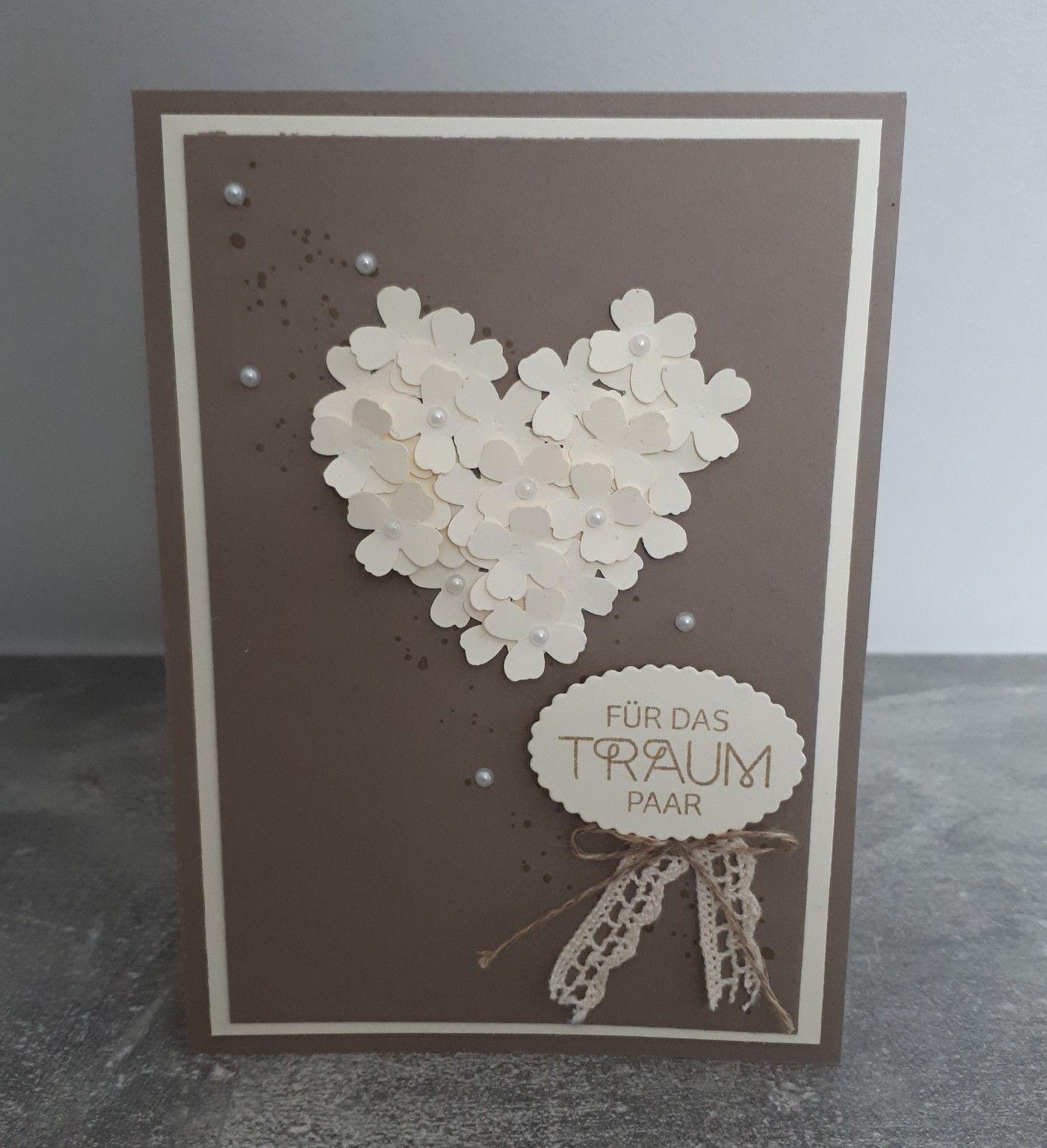 Perfekter Tag Karte Zur Hochzeit In Taupe Karte Hochzeit Gluckwunschkarte Hochzeit Hochzeitskarten Ideen