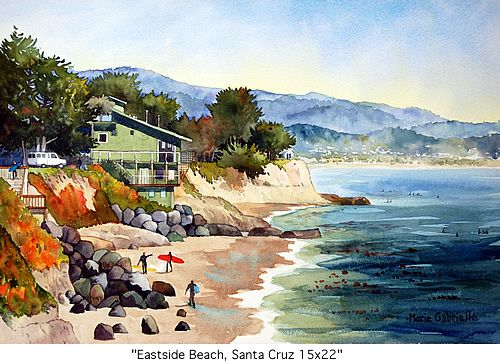 Santa Cruz...my house is just to the left of the O'Neill house on the cliff...love this