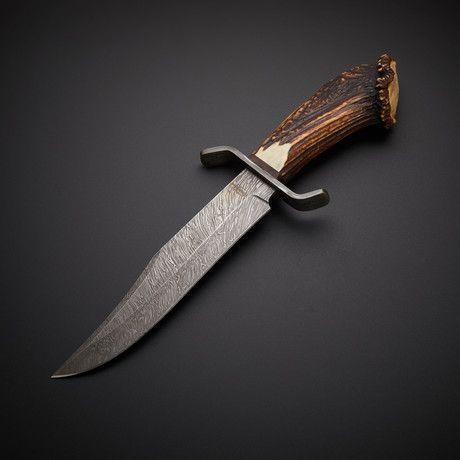 0358ed673 Texas Cowboy Bowie Damascus Steel, Dámská Móda, Bowie, Zbraně, Nářadí, Nože