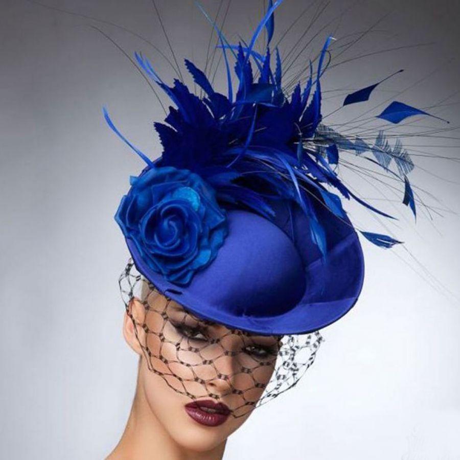 Arturo Rios Collection Crystal Fascinator Hat  5fb80199a98