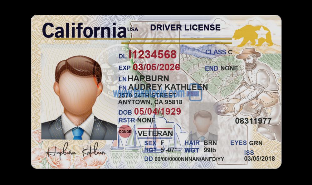 Vermont Driver License Psd Template High Quality Psd Template Licencia De Conducir Carlos Ruiz Vermont