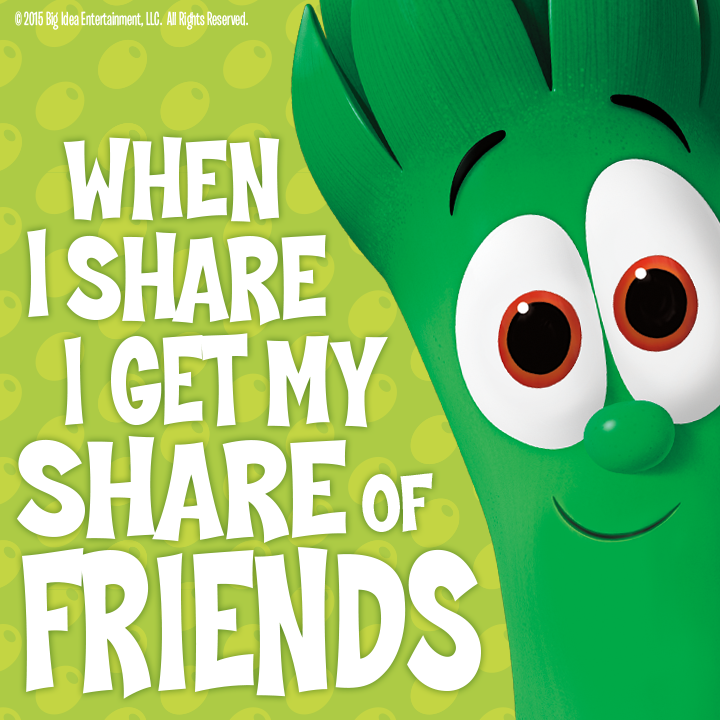 Learning to share with others is an important life skill