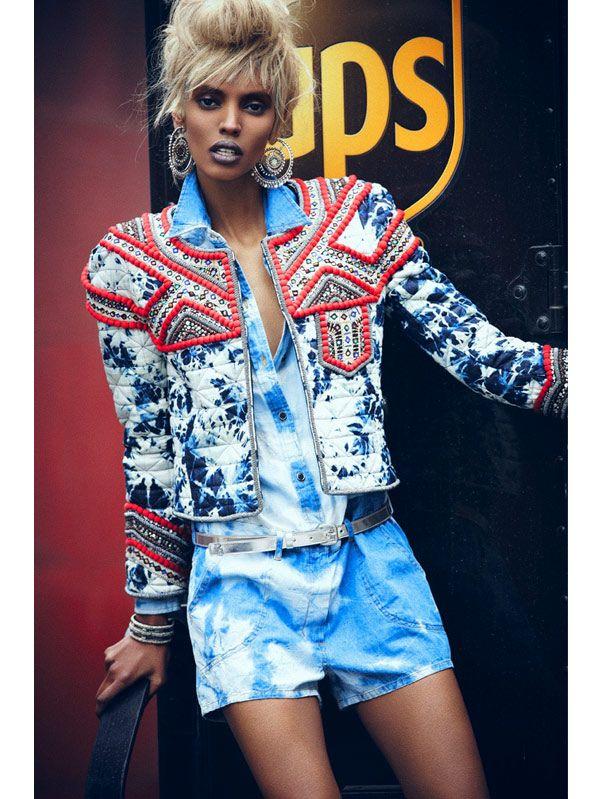 New Magazine, 2012  Model / Grace Mahary  Photographer / Max Abadian  Stylist / Cary Tauben