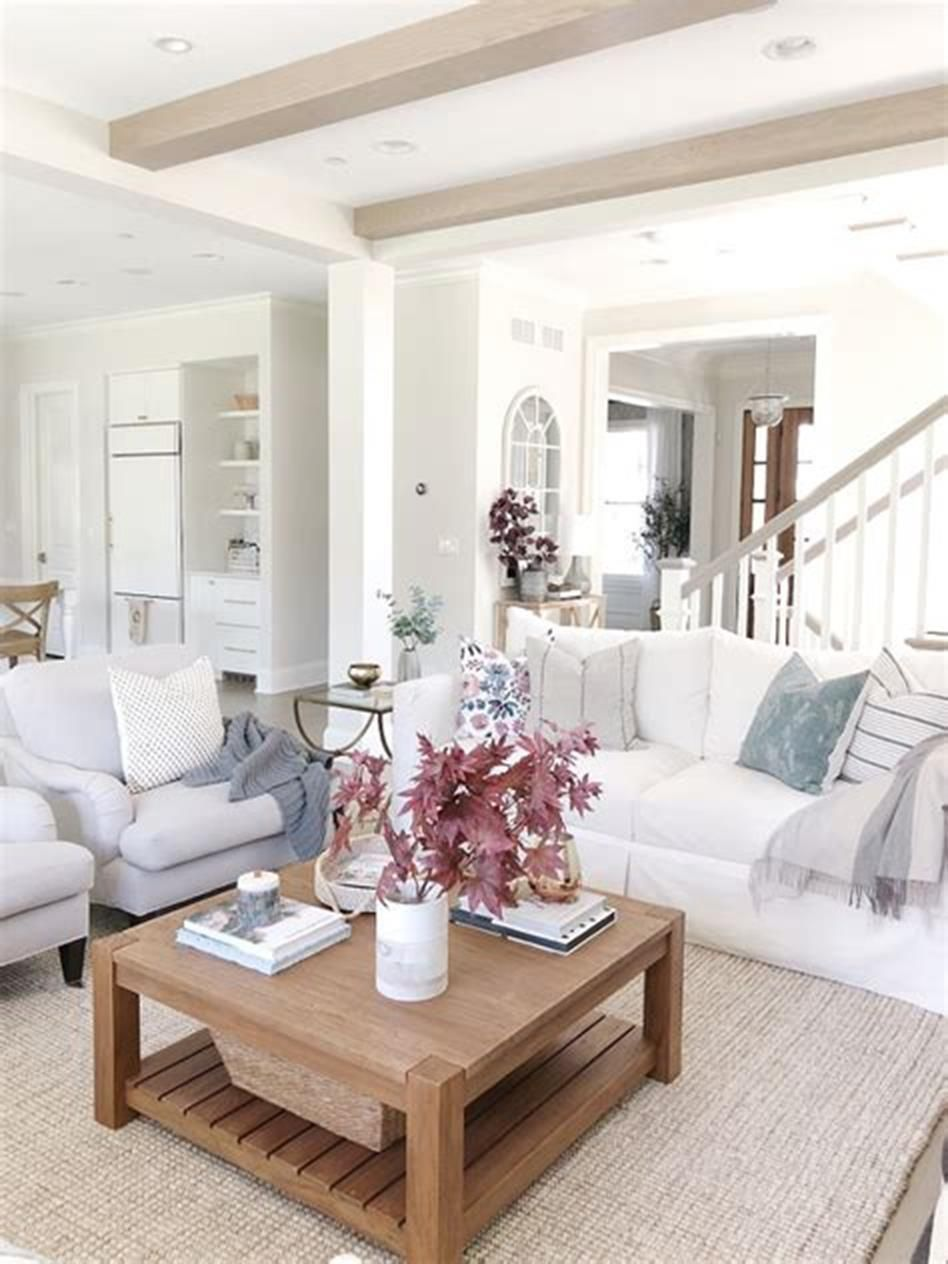 36 Cozy Fall Living Room Decorating Ideas for 2019 ...