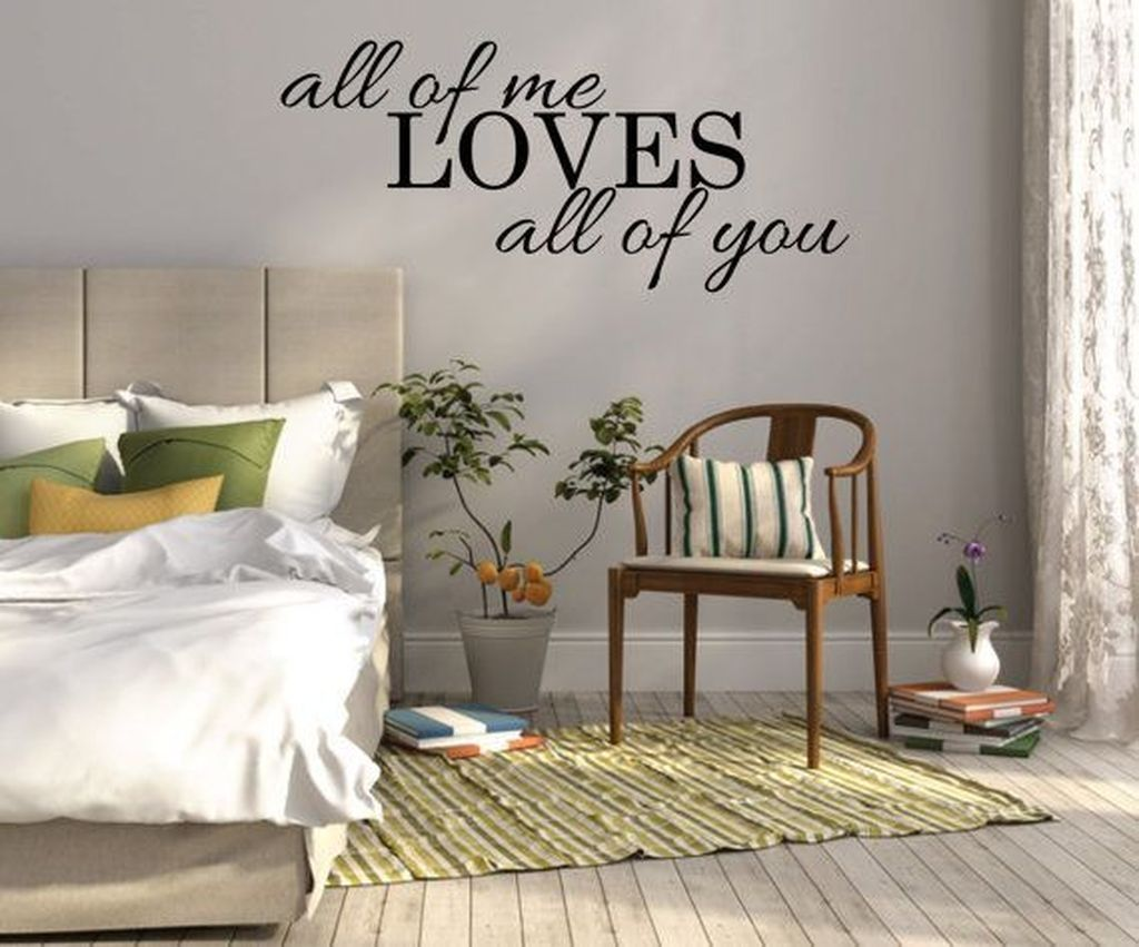 Nice 49 Awesome Bedroom Wall Decals Design Ideas Bedroom Wall Decor Above Bed Wall Decor Bedroom Wall Decals For Bedroom