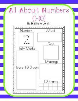 Number Sense Worksheets 1 10 Math Number Sense Number Sense Number Sense Worksheets