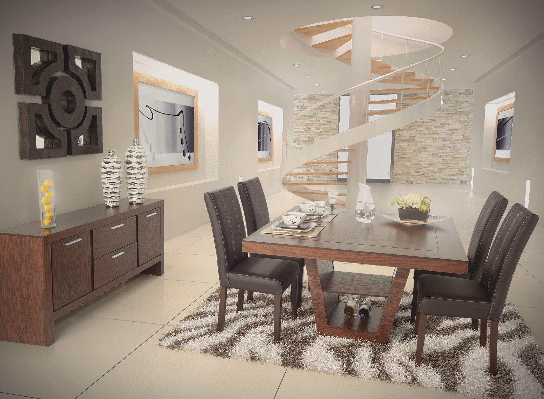 Comedor lexus encino de placencia muebles comedores for Muebles de cocina comedor y sala