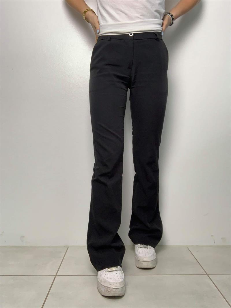 Photo of Flare bukser sorter med lommer