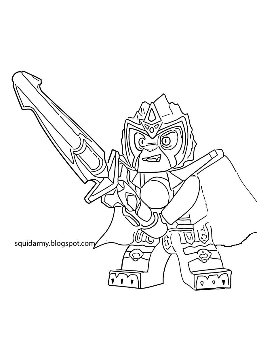 Awesome Chima Coloring Pictures Special Picture