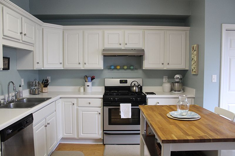 Image for Kitchen benjamin moore wedgewood gray The Story of Us ...