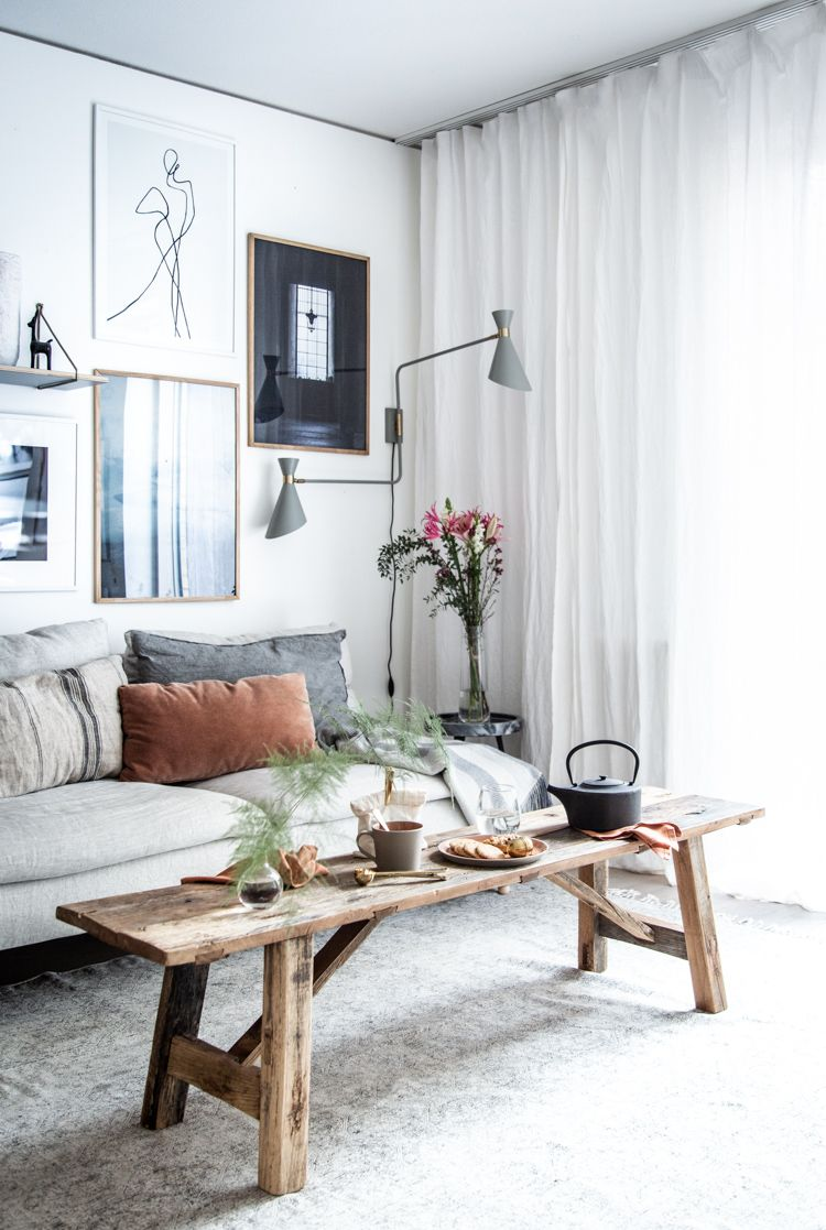 The Anatomy of the Perfect Scandinavian Living Room | Hunker