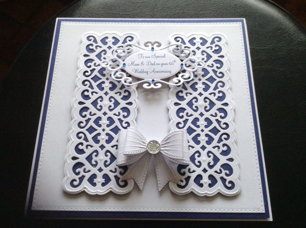 65th Wedding Anniversary Gift Ideas: 65th Wedding Anniversary Card