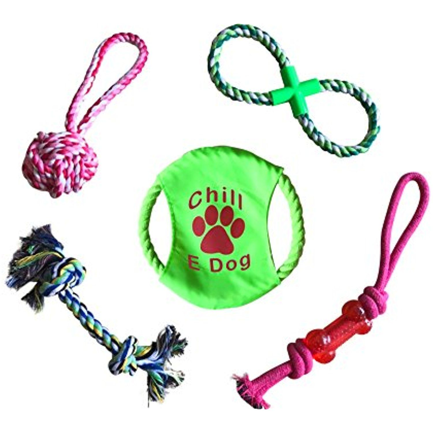 Dog Chew Toys Dog Rope Toys Dog Toys 5 Pack Perfect To Occupy