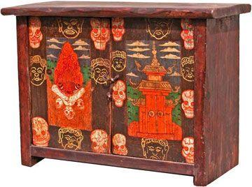 Tibetan Cabinet 12
