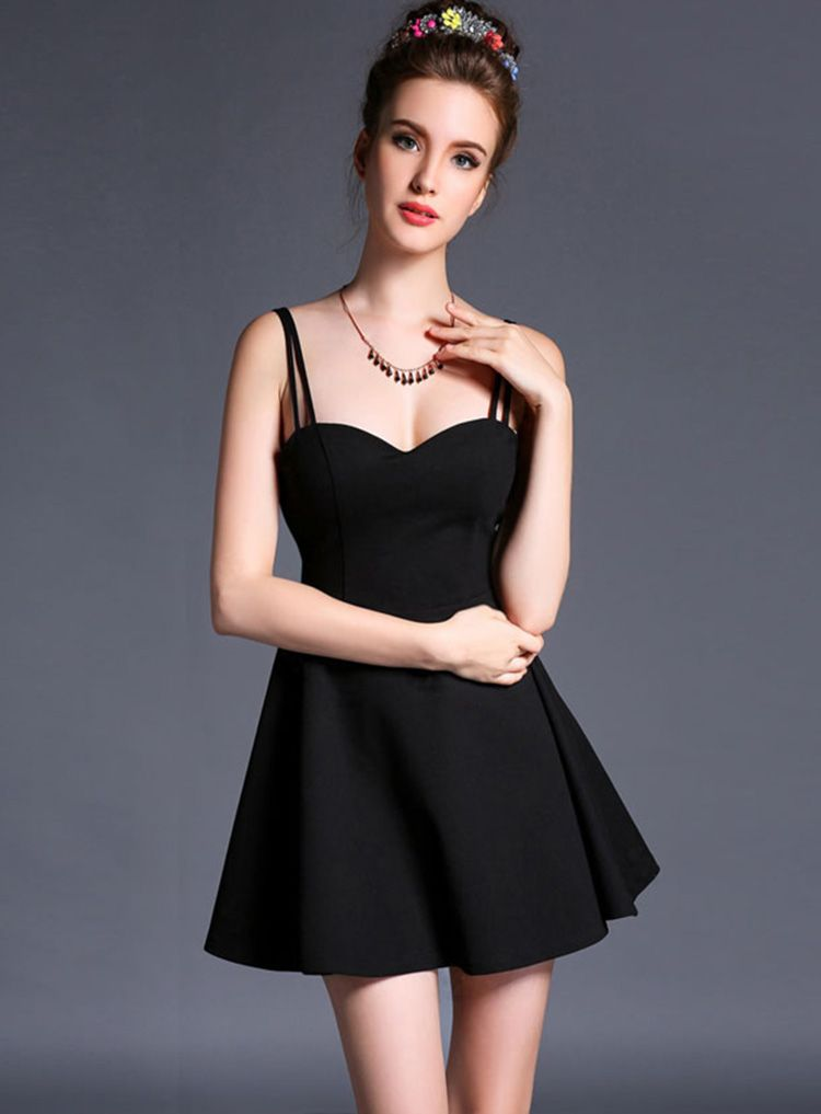 Women Vintage Sleeveless Backless Evening Cocktail Dress - Lalalilo.com Shopping - The Best Deals on Women's Dresses