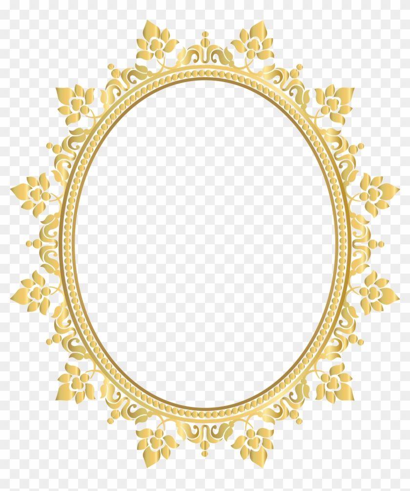 Find Hd Golden Gold Frame Frame Borders Border Round Circle Transparent Background Gold Frame Png Transpar Gold Picture Frames Gold Frame Original Canvas Art