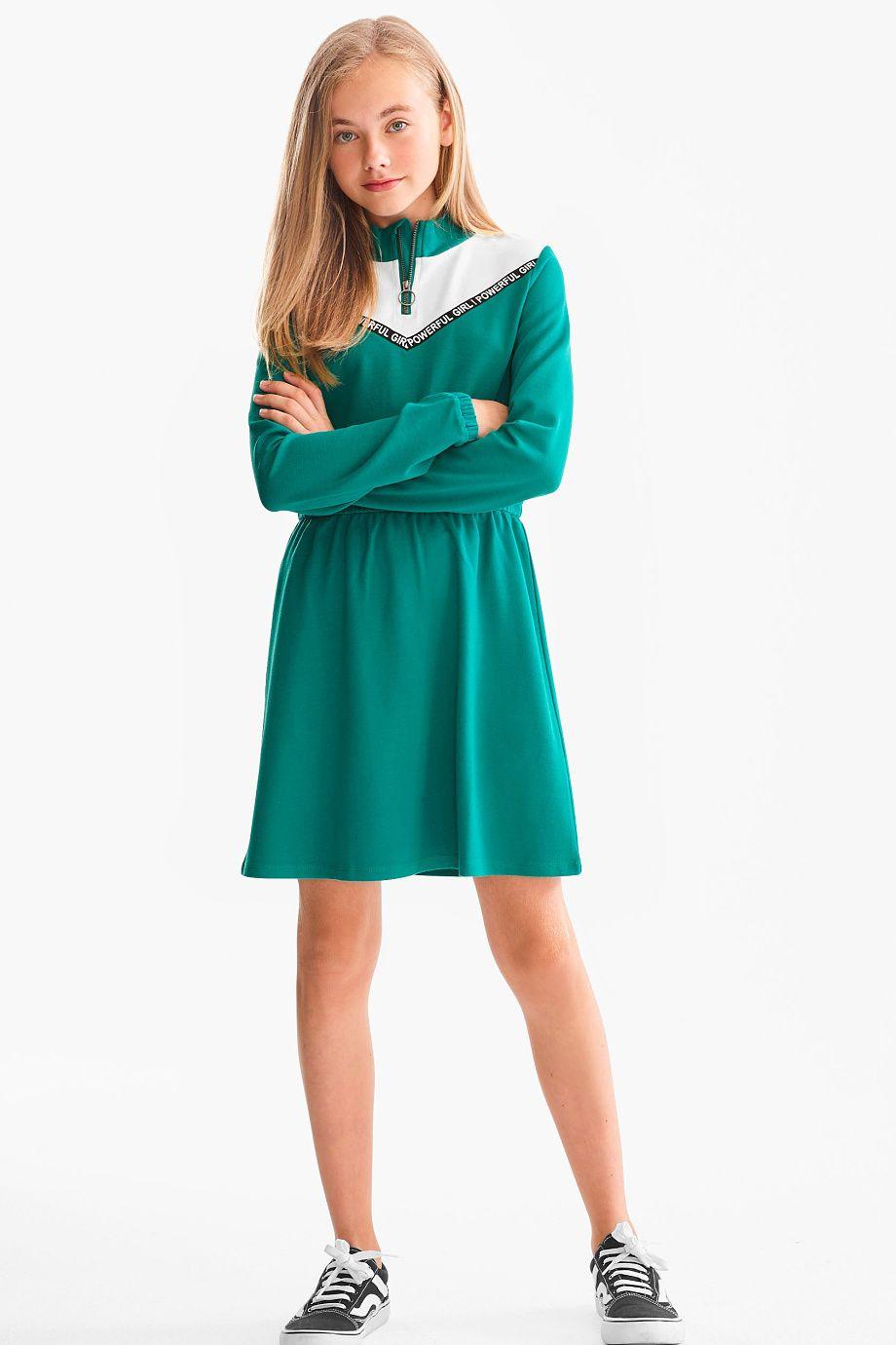 Kleid Hochgeschlossenes Kleid Kleider Madchen Strumpfhose