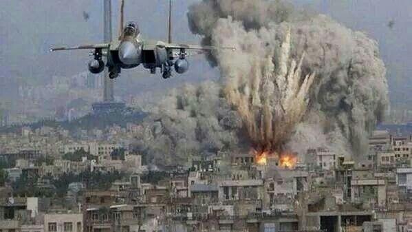 Air strikes in Palestine
