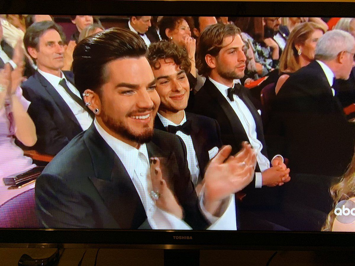 Adam Lambert At The Oscars 2019 Adam Lambert