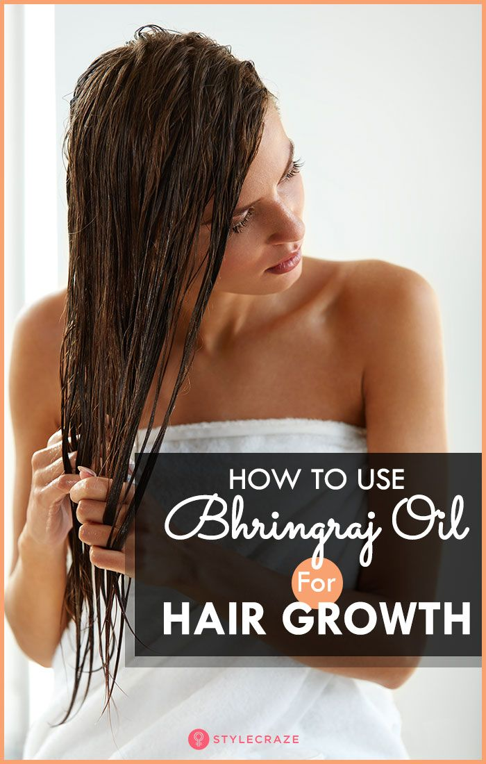 How To Use Bhringraj Oil For Hair Growth in 2020   Hair ...