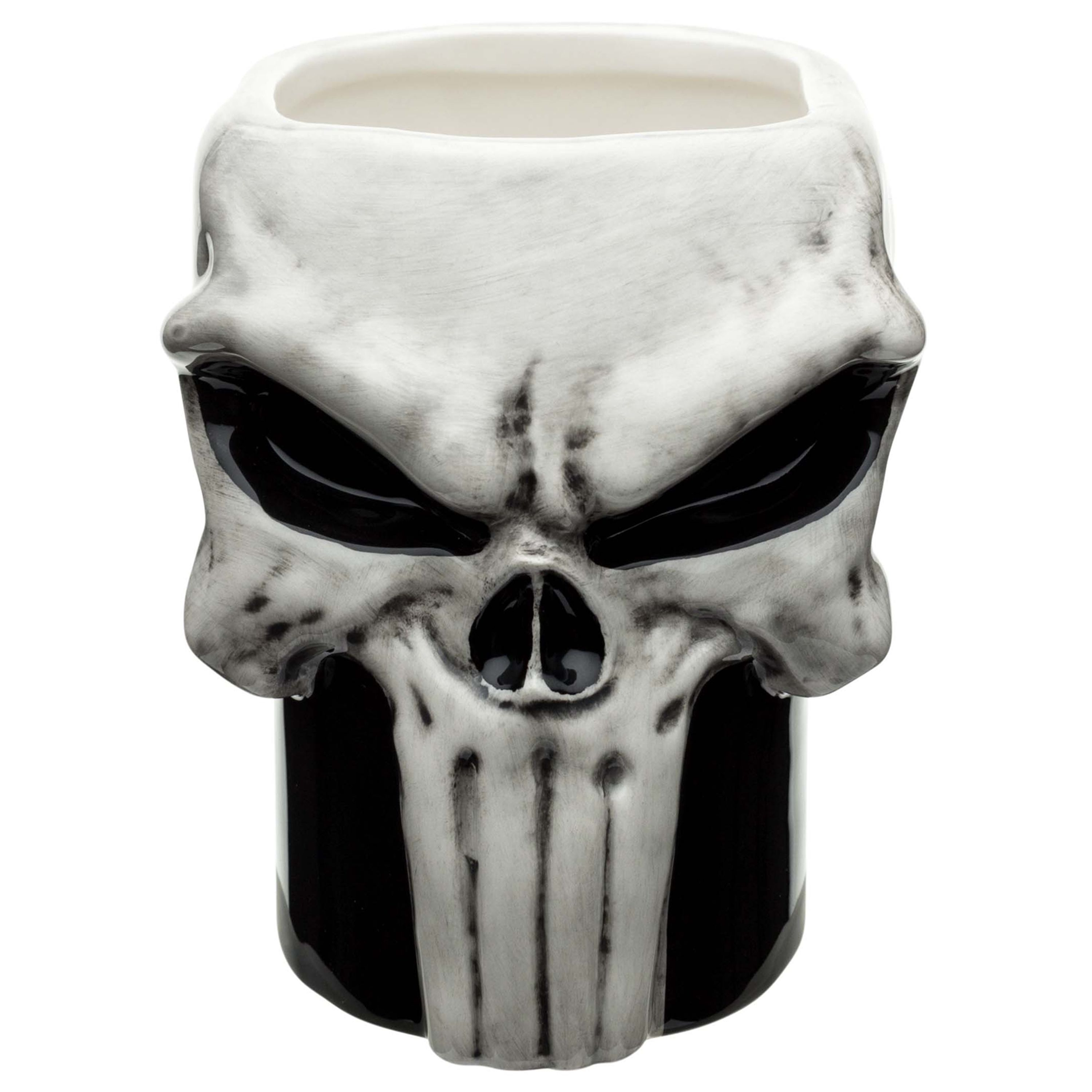 70fca2b2e72 Marvel Coffee Mugs - The Punisher by Zak!, Black | Products ...