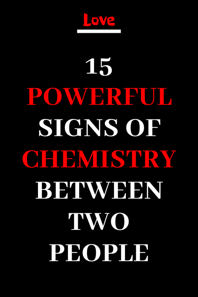 Chemistry signs of 9 Signs