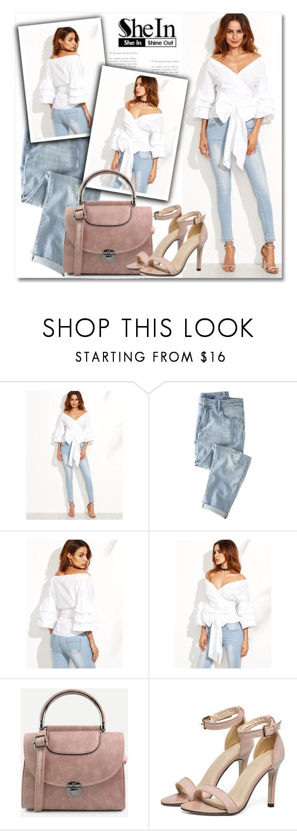 """""""Shein contest"""" by aida-nurkovic ❤ liked on Polyvore featuring WithChic and Wrap"""