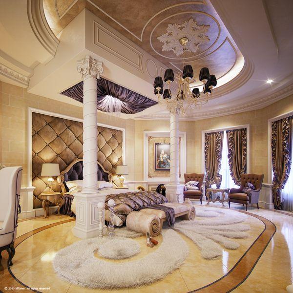 "Luxury ""Master Bedroom"" by Muhammad Taher at Doha, Qarer"