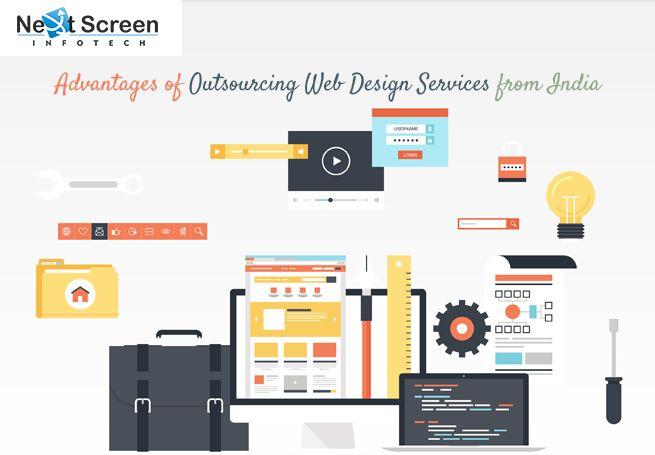 Advantages Of Outsourcing Web Design Services From India Web Design Web Design Services Web Development