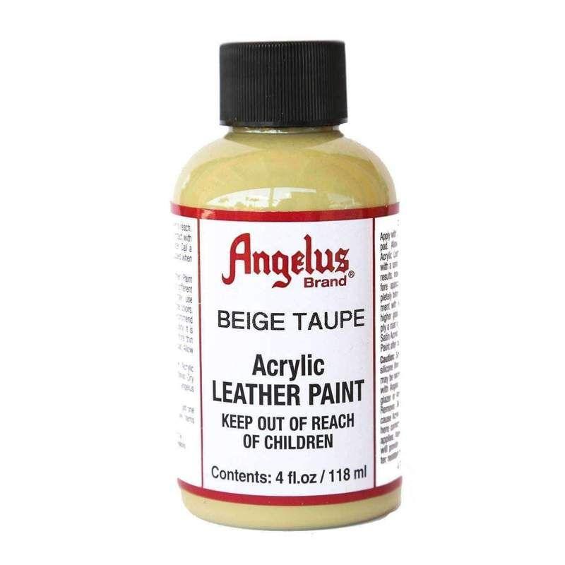 Angelus Acrylic Leather Vinyl Canvas Paint Dye 4 Oz Paint Dye Angelus Beige Taupe Vinyl Painted Leather Vinyl Vinyl