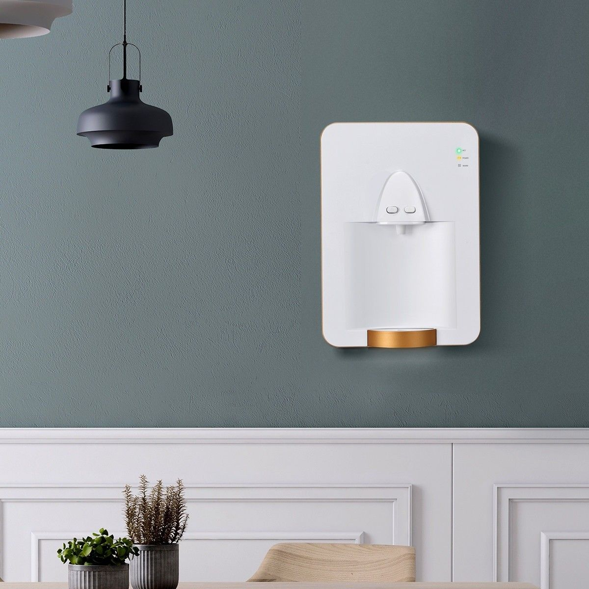 Wall Mounted Electric Tank Water Dispenser With Removable Drip Tray Water Dispenser Drip Tray Electric Heating