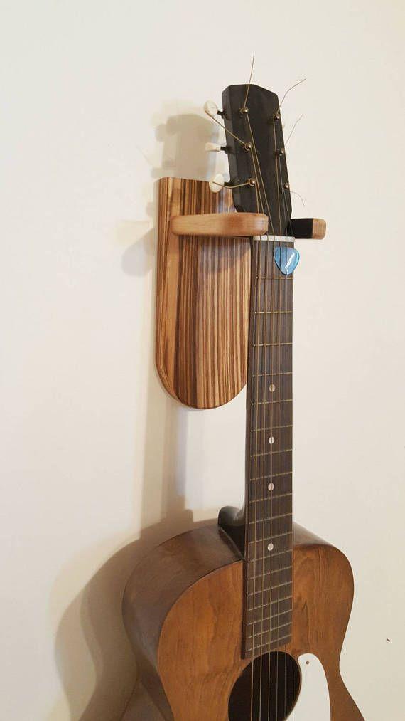Guitar Wall Mount Modern Design Guitar Wall By Thewoodenmirra Guitar Wall Hanger Guitar Wall Diy Furniture Decor