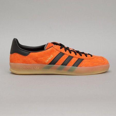 adidas Gazelle Indoor in Craft Orange / Black | Adidas gazelle ...