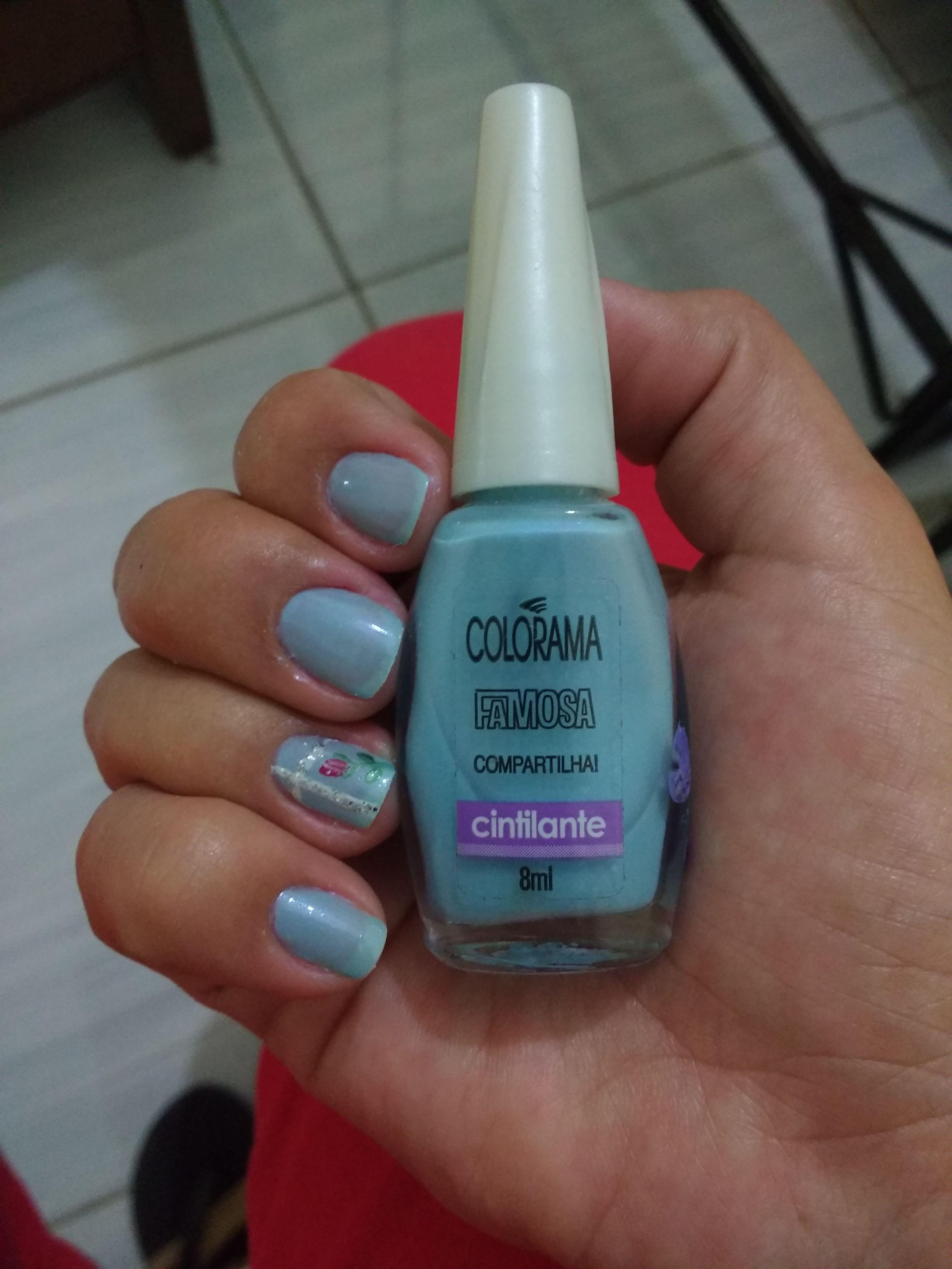 Esmalte Compartilha! da Colorama coelção Famosa Esmalte azul claro ...