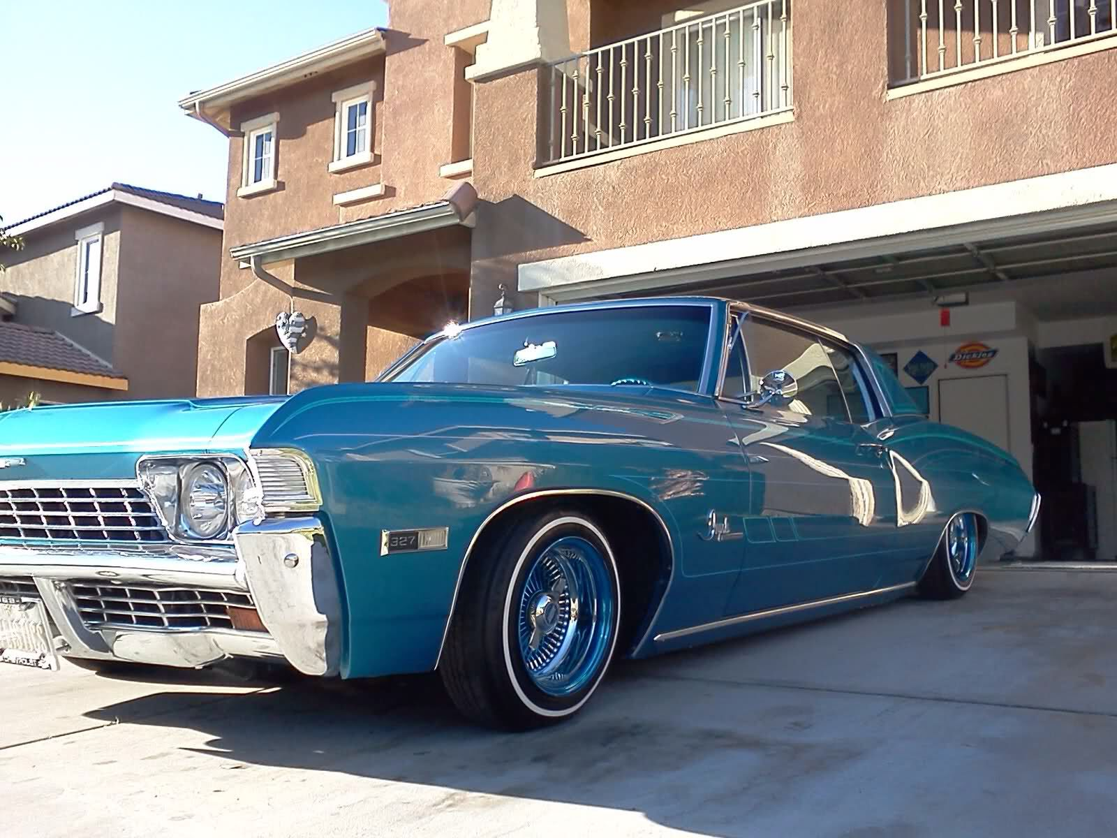 68 Impala Left Side Lowriders Lowrider Cars Best Classic Cars