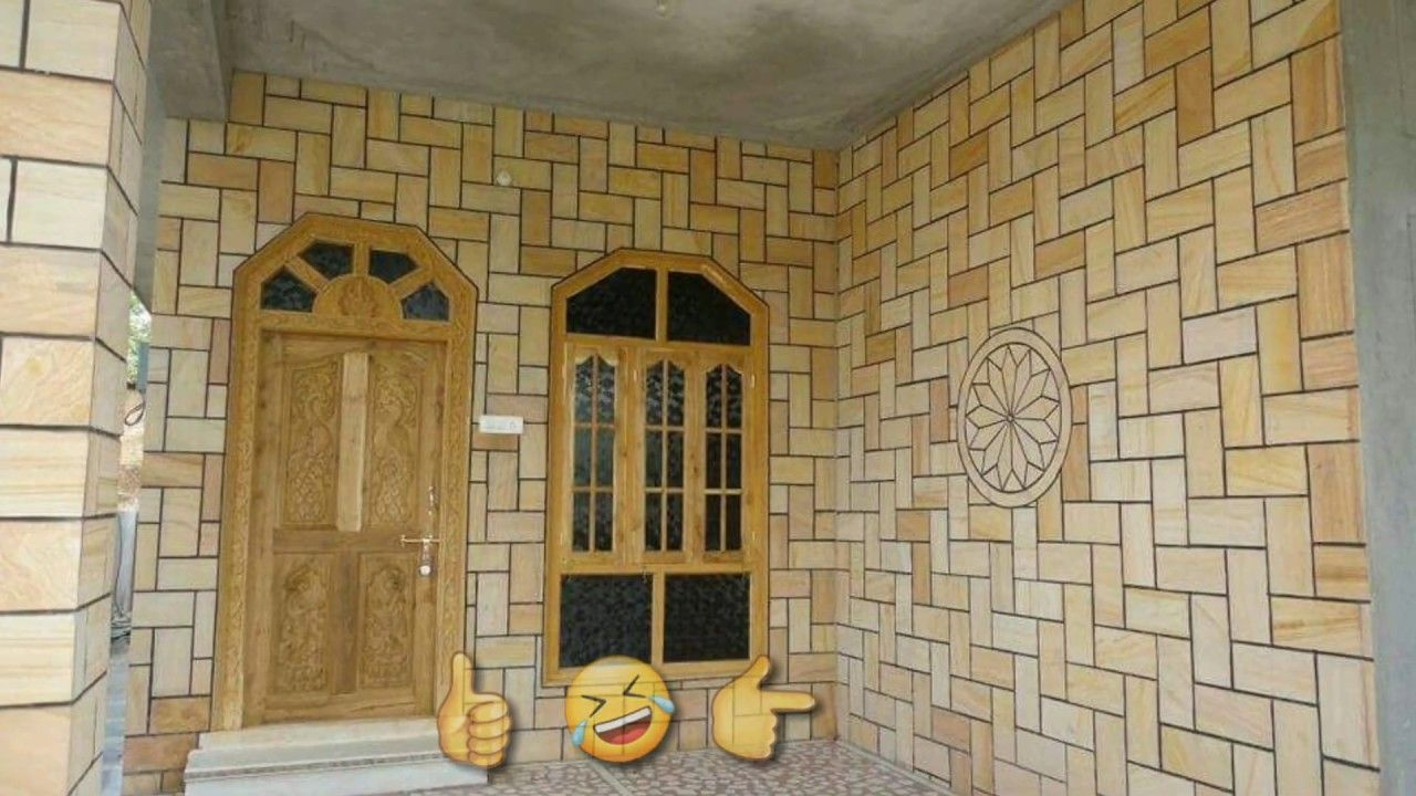 9 Outstanding Indian House Exterior Wall Design Ideas Using Indian Natural Stone Tilesoutstandin Wall Tiles Design Exterior Wall Design House Front Wall Design