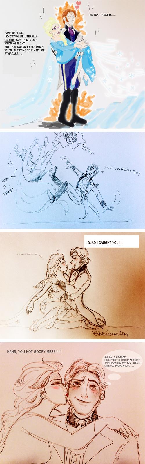 Hans And Elsa In Love