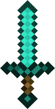 Diamond Sword Minecraft Diamond Sword Png Image With Transparent Background Png Free Png Images Minecraft Diamond Sword Minecraft Sword Minecraft