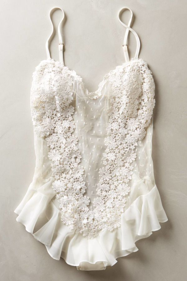 The details and elegance of this.  Flora Nikrooz lingerie: http://www.stylemepretty.com/collection/2328/